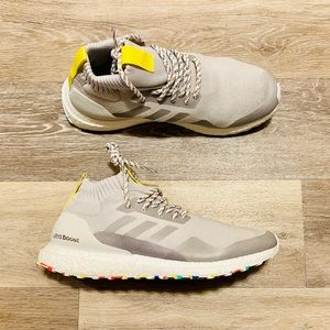 Adidas UltraBOOST Mid Grey White Running Shoes